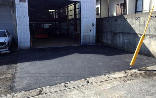 大分市N様 倉庫前舗装工事