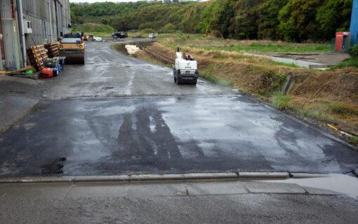 北鼻地区進入路補修工事