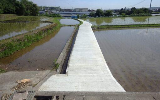 舟本川上農道補修工事
