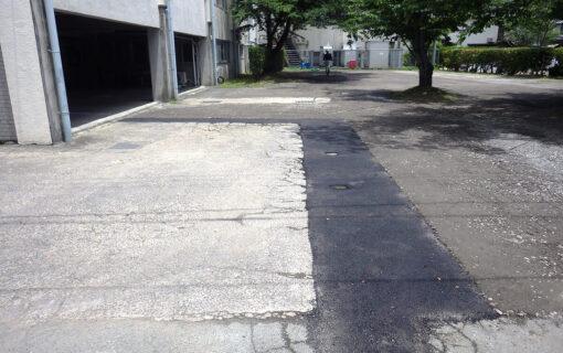 湯布院岩男病院様 駐車場補修工事